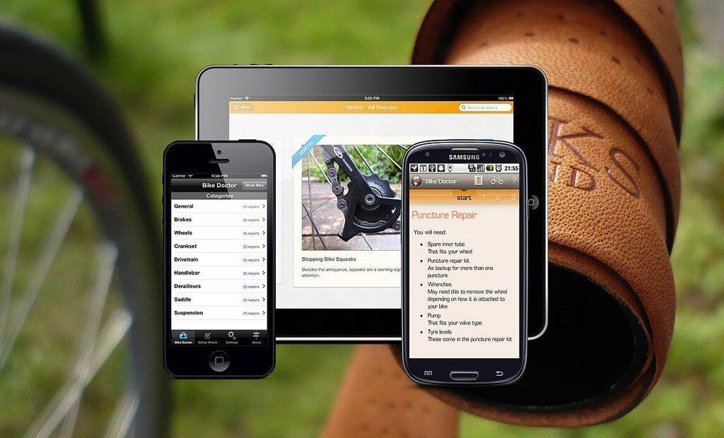 Bike Doctor app - srcgadgets.com