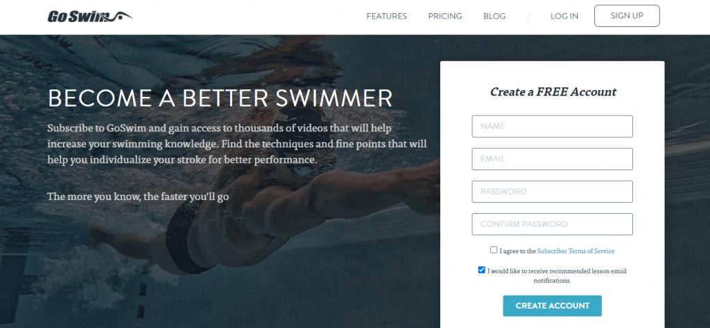 GoSwim Lite App - srcgadgets.com