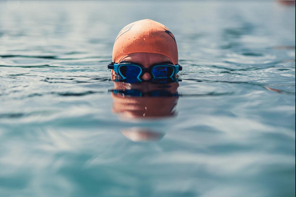 Open water swim googles