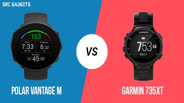 Polar Vantage M vs Garmin 735xt - srcgadgets.com