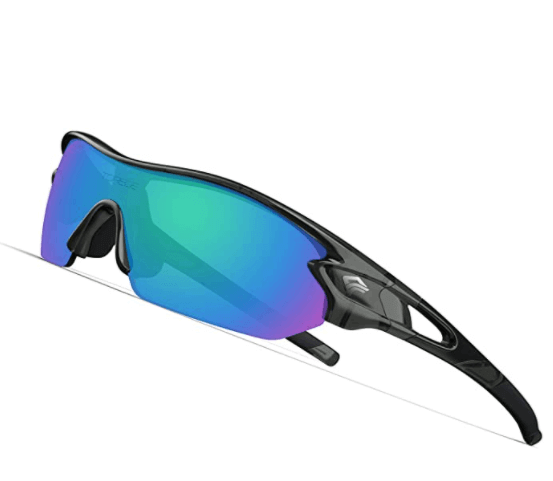 TOREGE Polarized Sports Sunglasses for Men Women