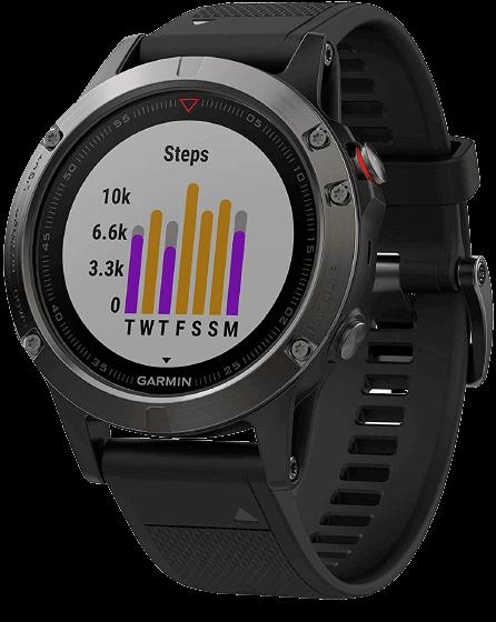 Garmin fēnix 5 - Multifunction Watch With Altimeter