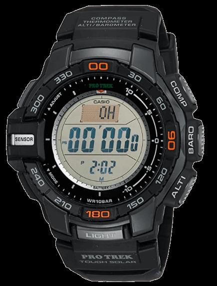 Casio Triple Sensor - Solar Altimeter Watch